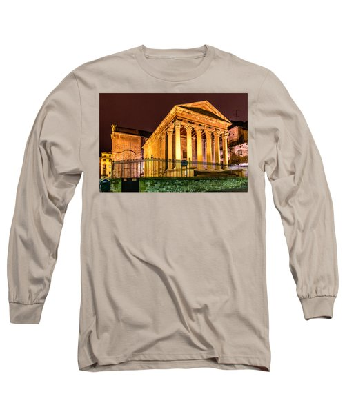 Night At The Roman Temple Long Sleeve T-Shirt
