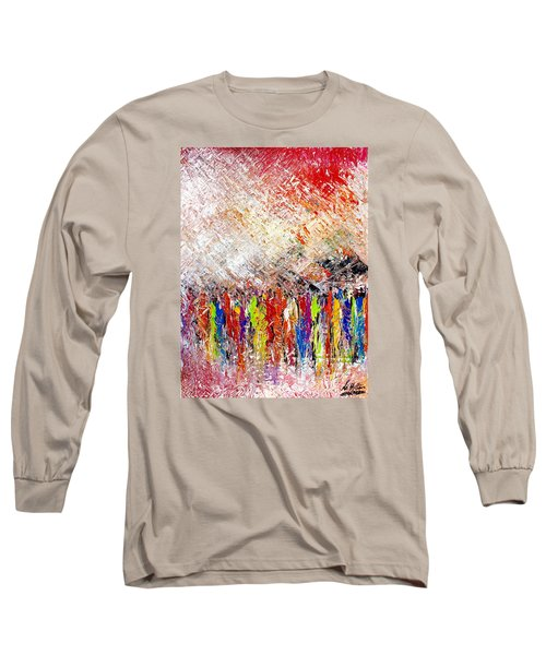 Night Covers Us Long Sleeve T-Shirt
