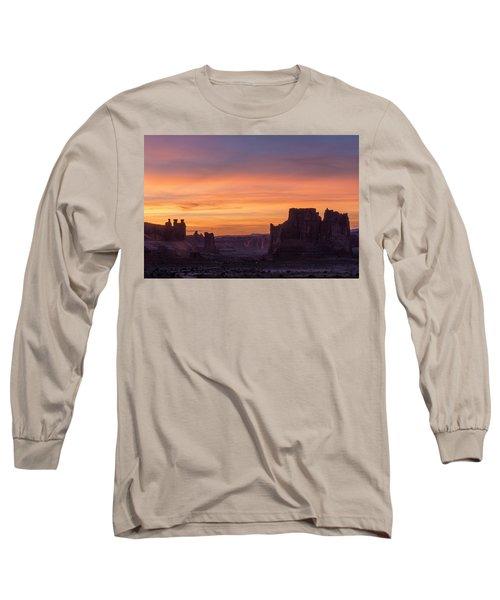 Night Falls Gently Long Sleeve T-Shirt