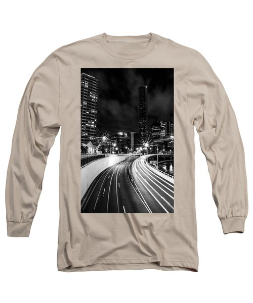 Night Time In The City  Long Sleeve T-Shirt