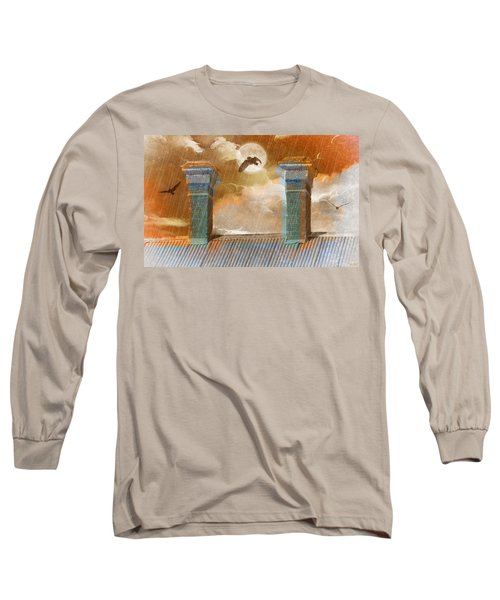 Long Sleeve T-Shirt featuring the photograph Night Vision by Holly Kempe