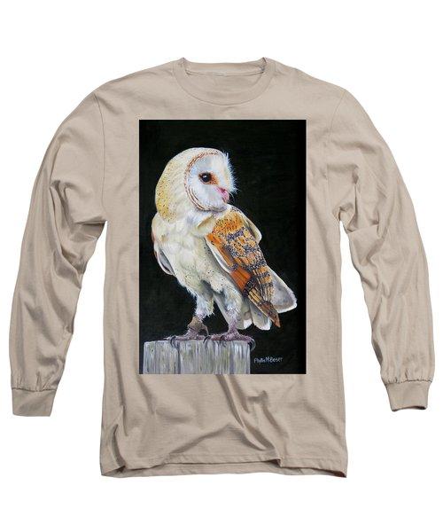 Night Watch Long Sleeve T-Shirt by Phyllis Beiser