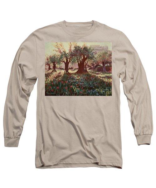 Nimrods Castle, Northern Galilee, Israel Long Sleeve T-Shirt