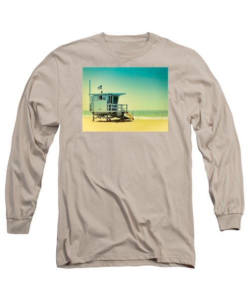 No 16 - Wish You Were Here Long Sleeve T-Shirt by Douglas MooreZart