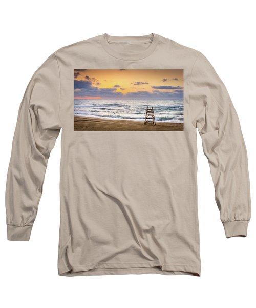 No Lifeguard On Duty. Long Sleeve T-Shirt