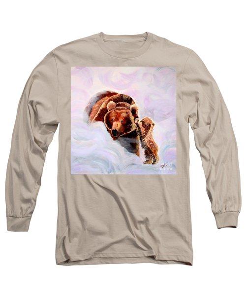 No Mama Long Sleeve T-Shirt by Phyllis Kaltenbach
