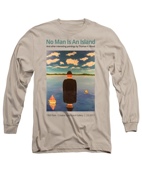 No Man Is An Island T-shirt Long Sleeve T-Shirt