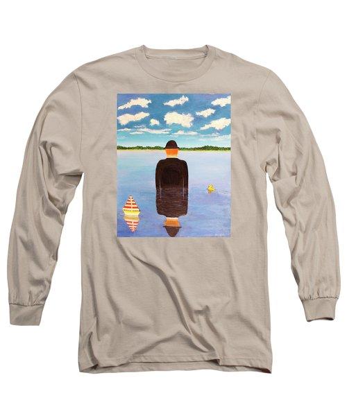 No Man Is An Island Long Sleeve T-Shirt