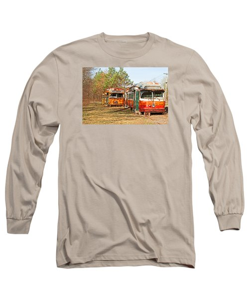 No Stops Long Sleeve T-Shirt by Michael Porchik