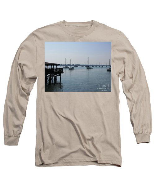 Long Sleeve T-Shirt featuring the photograph No Wind by Greg Patzer