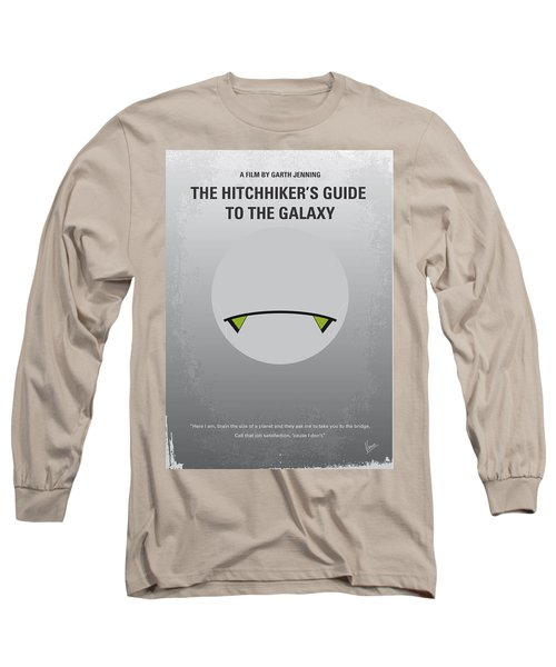 No035 My Hitchhiker Guide Minimal Movie Poster Long Sleeve T-Shirt