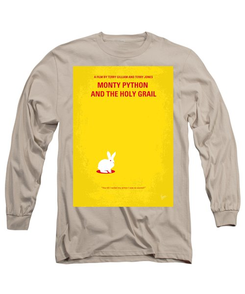 No036 My Monty Python And The Holy Grail Minimal Movie Poster Long Sleeve T-Shirt by Chungkong Art