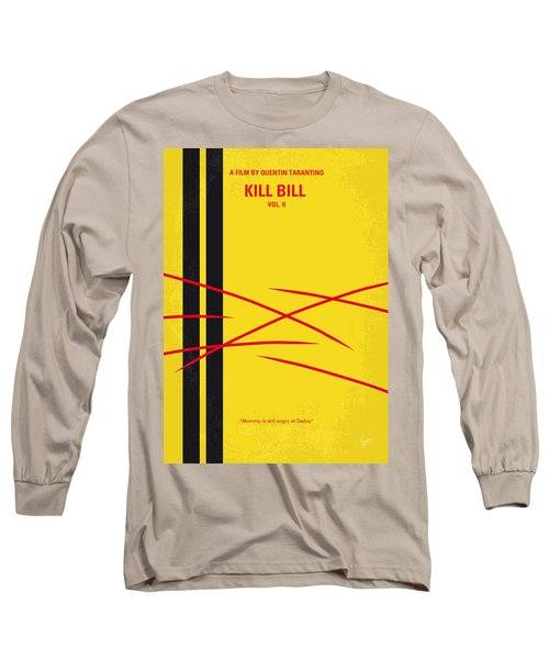 No049 My Kill Bill-part2 Minimal Movie Poster Long Sleeve T-Shirt
