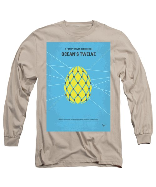 No057 My Oceans 12 Minimal Movie Poster Long Sleeve T-Shirt