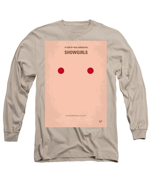 No076 My Showgirls Minimal Movie Poster Long Sleeve T-Shirt