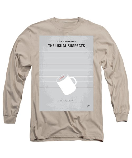 No095 My The Usual Suspects Minimal Movie Poster Long Sleeve T-Shirt