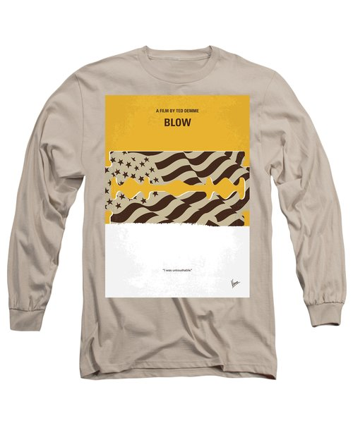 No693 My Blow Minimal Movie Poster Long Sleeve T-Shirt by Chungkong Art