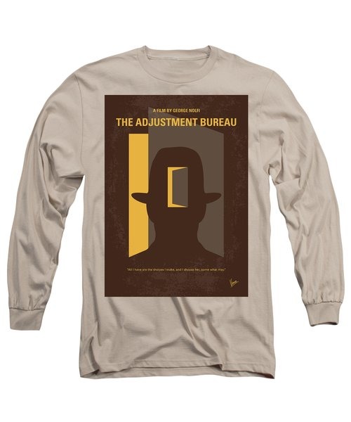 No710 My The Adjustment Bureau Minimal Movie Poster Long Sleeve T-Shirt