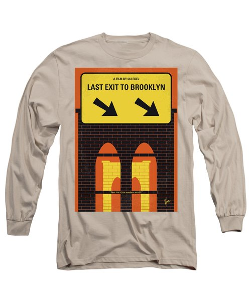 No879 My Last Exit To Brooklyn Minimal Movie Poster Long Sleeve T-Shirt