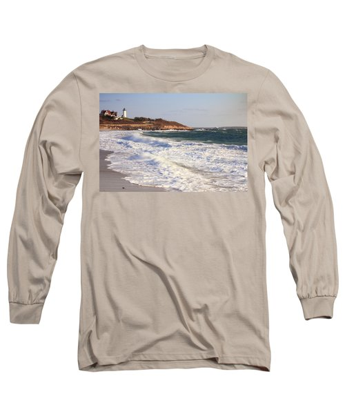 Nobska Point Seascape Long Sleeve T-Shirt