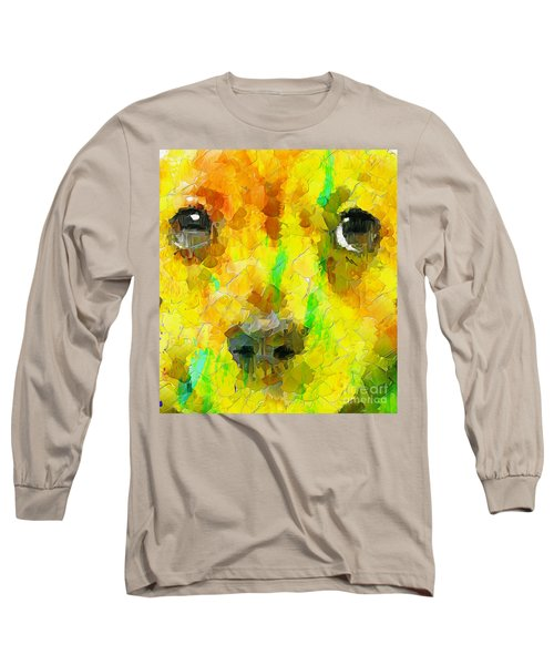 Noise And Eyes In The Colors Long Sleeve T-Shirt