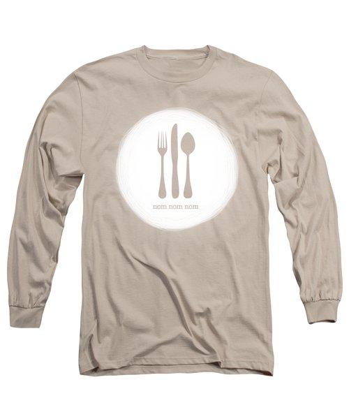 Nom Nom Nom Long Sleeve T-Shirt