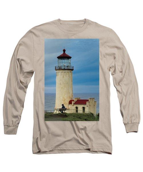 North Head Lighthouse Long Sleeve T-Shirt