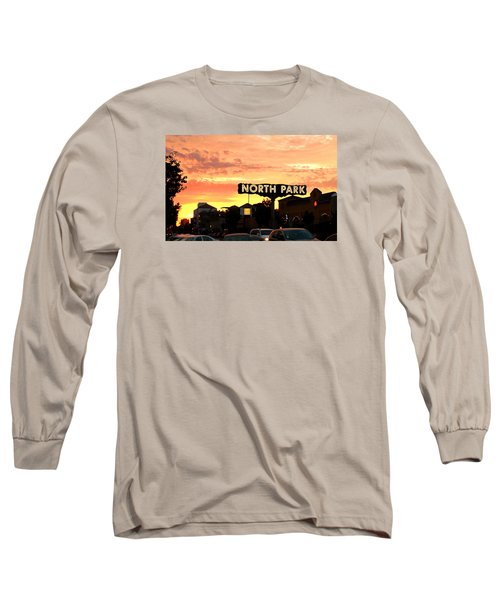 Long Sleeve T-Shirt featuring the photograph San Diego North Park Sun by Christopher Woods