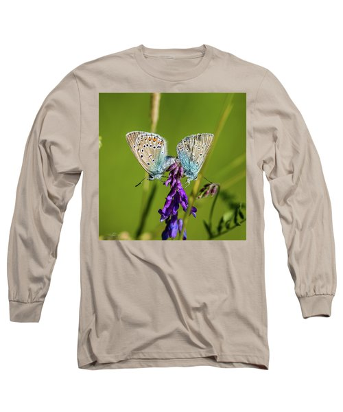 Northern Blue's Mating Long Sleeve T-Shirt