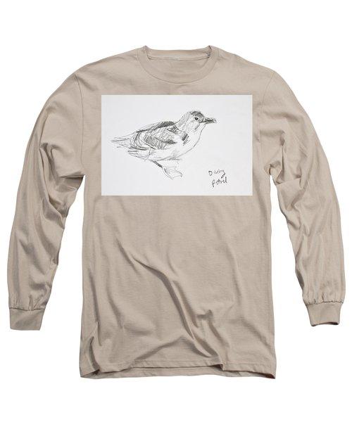 Northern Diving Petrel Long Sleeve T-Shirt