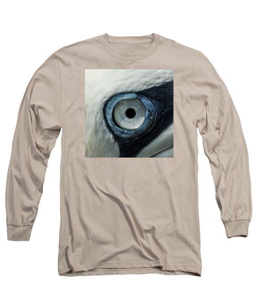 Northern Gannet Eye Long Sleeve T-Shirt