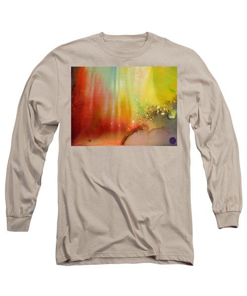 Northern Lights # 1 Long Sleeve T-Shirt
