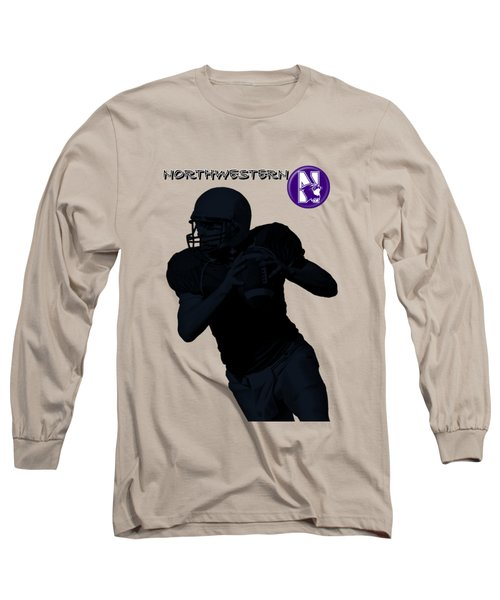 Northwestern Football Long Sleeve T-Shirt