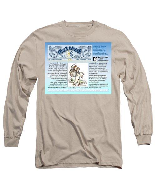 Real Fake News Cookies Excerpt Long Sleeve T-Shirt