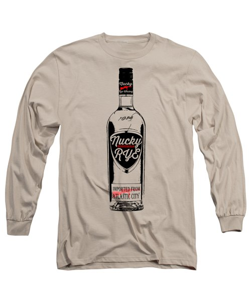 Nucky Thompson Boardwalk Rye Whiskey Tee Long Sleeve T-Shirt