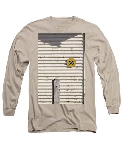 Long Sleeve T-Shirt featuring the photograph Number 66 by Linda Lees