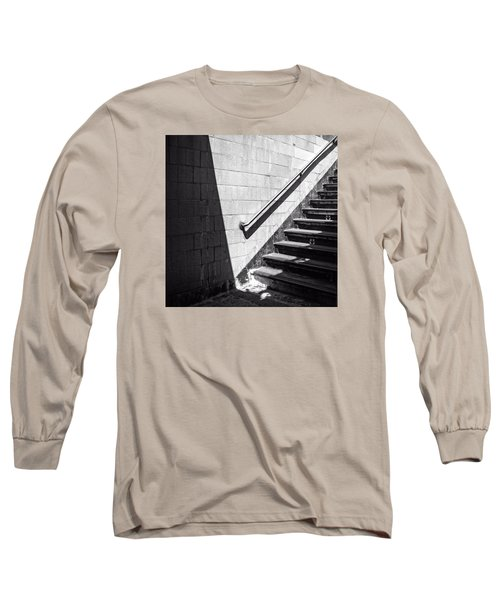 Ny Subway Stairs Long Sleeve T-Shirt