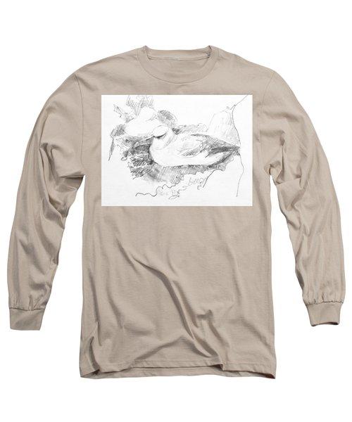New Zealand White-capped Mollymawk Long Sleeve T-Shirt