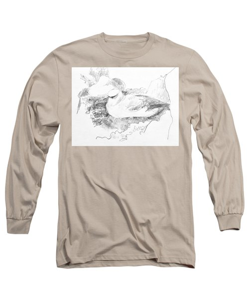 New Zealand White-capped Mollymawk Long Sleeve T-Shirt