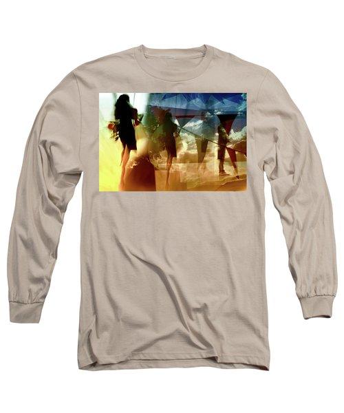 O How Much More Doth Beauty Beauteous Seem Long Sleeve T-Shirt by Danica Radman