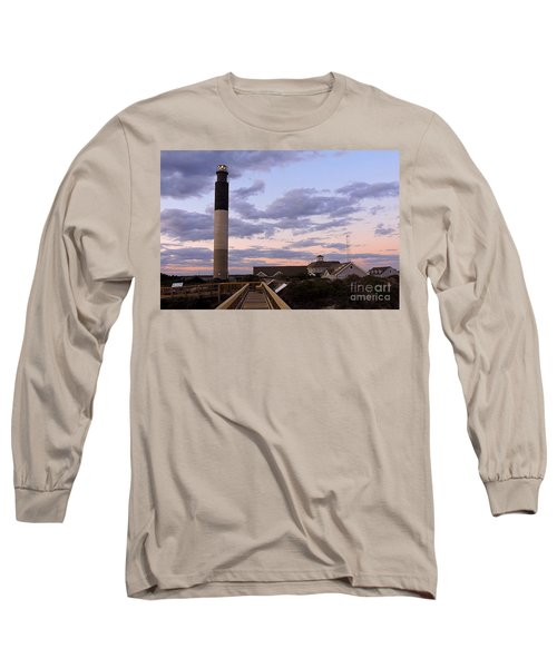 Oak Island Lighthouse Long Sleeve T-Shirt