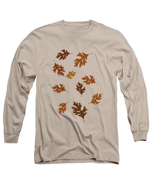 Oak Leaves Art Long Sleeve T-Shirt