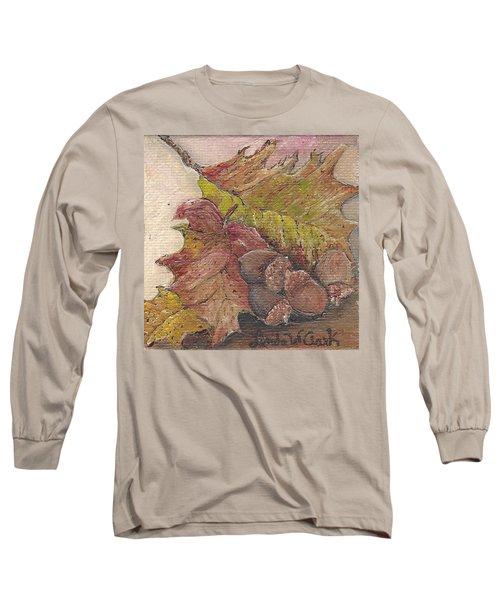 Oak Leaves Long Sleeve T-Shirt