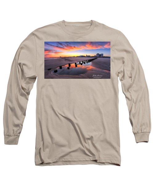 Ocean City Afterglow Long Sleeve T-Shirt