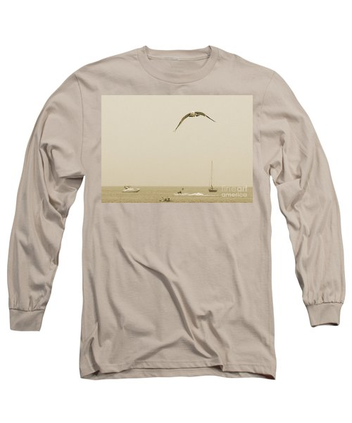 Ocean Fun Long Sleeve T-Shirt by Raymond Earley