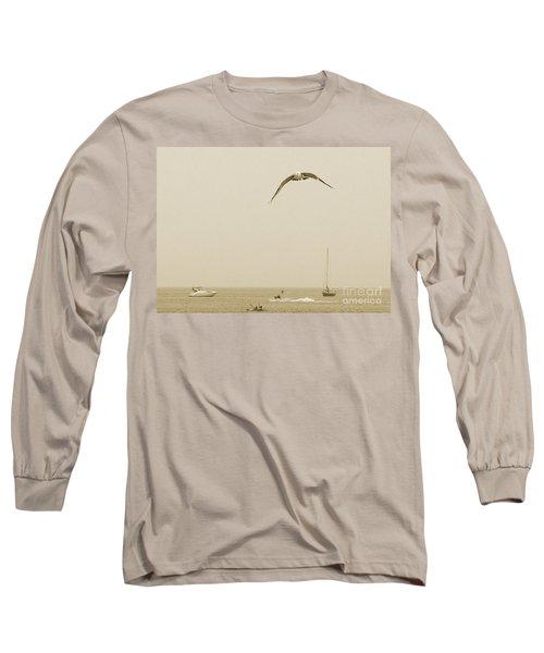 Long Sleeve T-Shirt featuring the photograph Ocean Fun by Raymond Earley