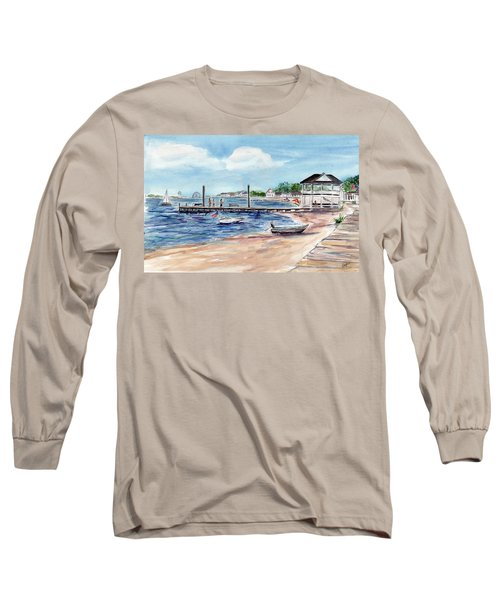 Ocean Gate Boardwalk Long Sleeve T-Shirt