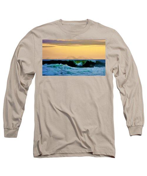 Ocean Power Long Sleeve T-Shirt by Blair Stuart