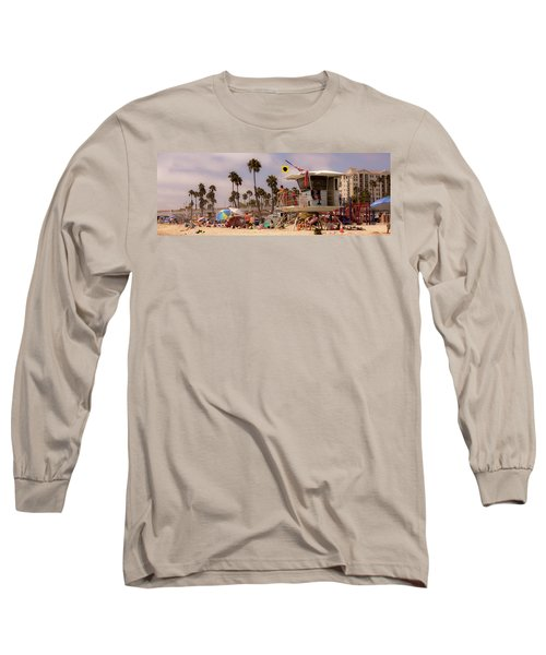 Oceanside Beach Long Sleeve T-Shirt