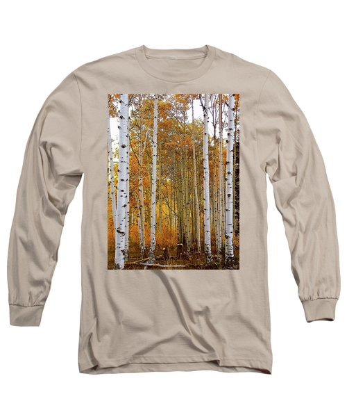 October Aspen Grove  Long Sleeve T-Shirt